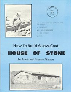 Building A Stone House Building With Stone Rocks